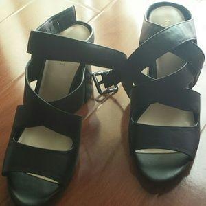 Brand new Strappy heel sandals